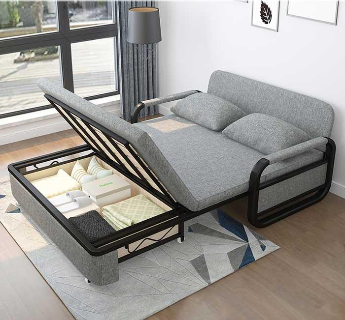 Giường sofa có thể nâng dát giường