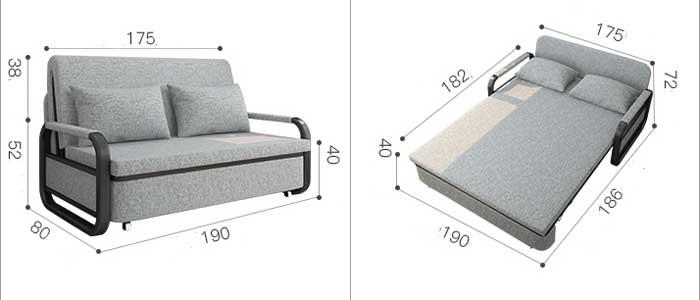 sofa giường 1m8