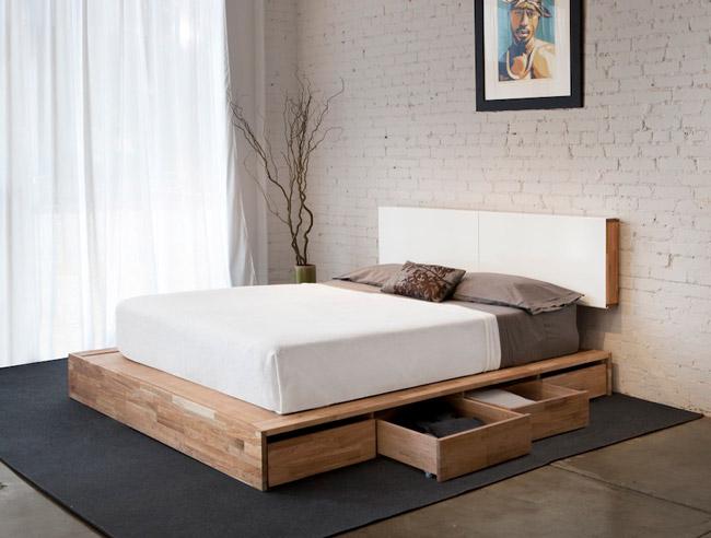 giường ngủ có 4 ngăn kéo