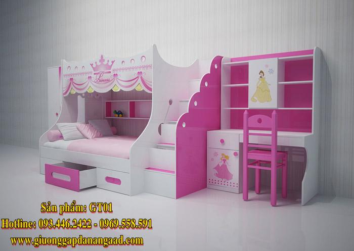 giường tầng trẻ em GT01