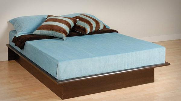 giường ngủ sát nền