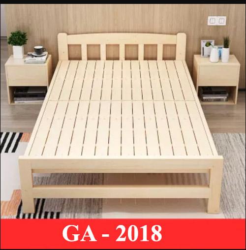 Giường gấp đa năng nhỏ gọn 2018