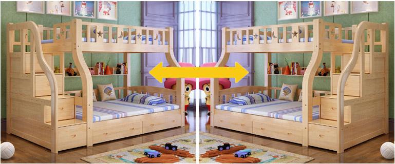 giường tầng đa năng