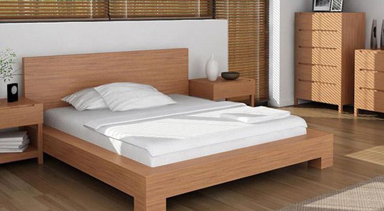 ngủ ngon với giường ngủ đệm êm
