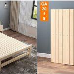 Giường gỗ gấp đôi đa năng nhỏ gọn GA-2018