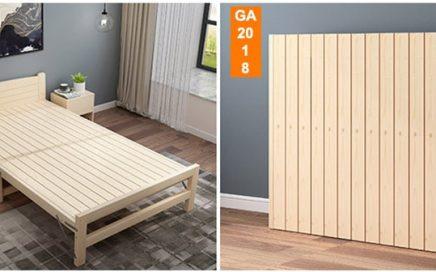 giường gỗ gấp thông minh