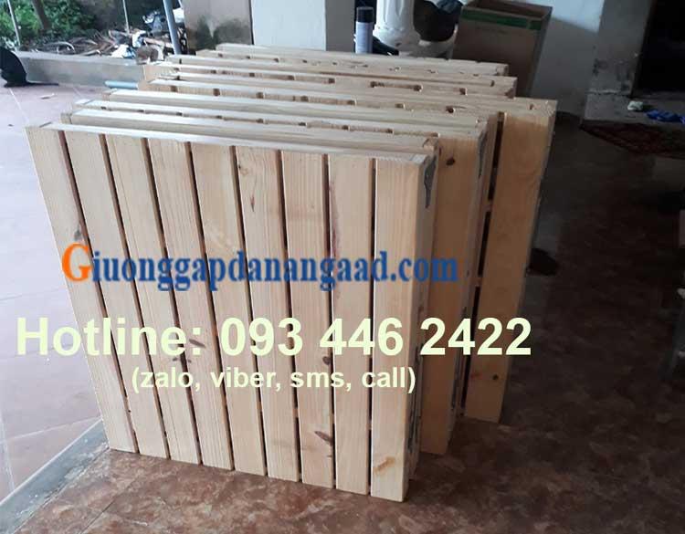 giường gấp gỗ tự nhiên