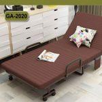 Giường gấp có đệm (giường xếp có nệm) GA829