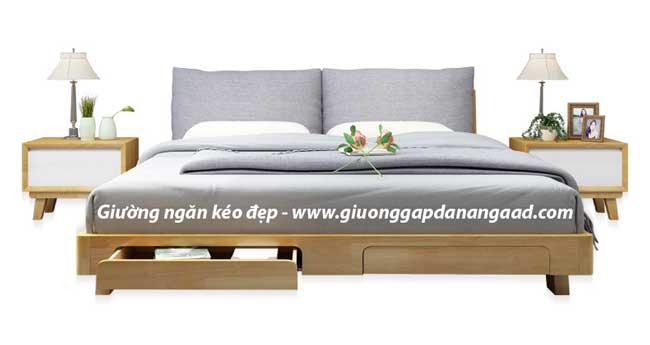 Giường ngủ có ngăn kéo cuối giường