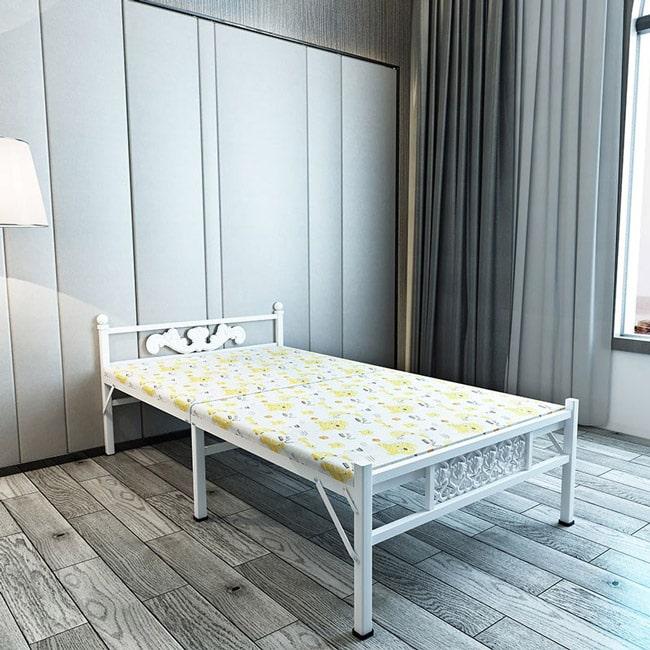 giường xếp có nệm