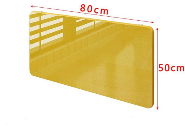 kích thước bàn gấp treo tường