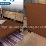 Ghế giường gấp xếp có đệm GA-2020