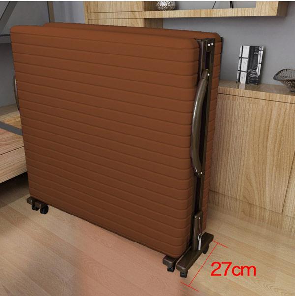 Giường gấp đa năng 1m2 cóđệm