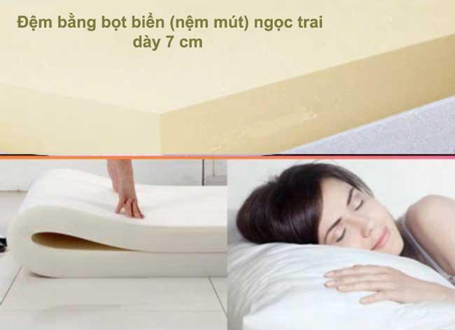 đệm giường gấp hàn quốc