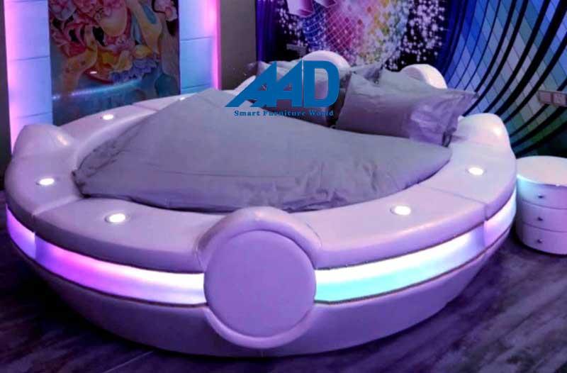Phòng ngủ giường tròn