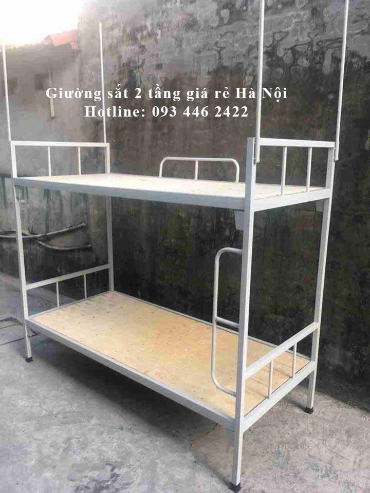 giường sắt 2 tầng giá rẻ hà nội