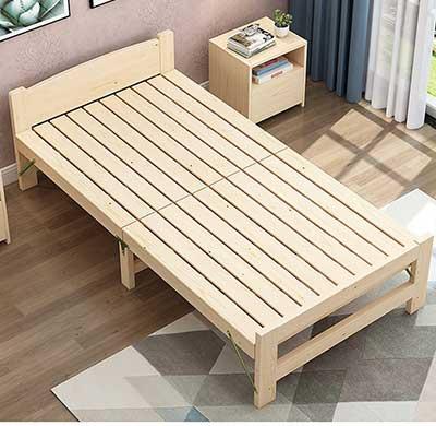 giường xếp gỗ