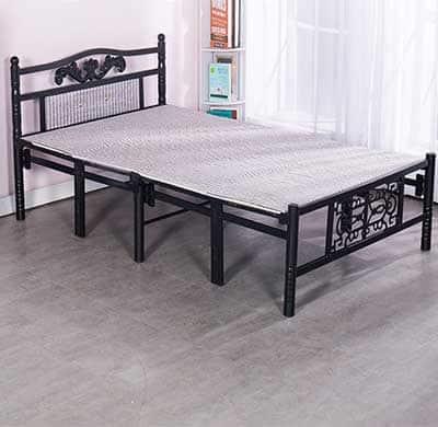 giường xếp sắt di động