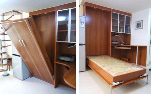 phụ kiện bản lề giường gấp dọc