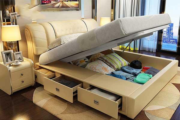 Pít tông thủy lực làm giường gấp