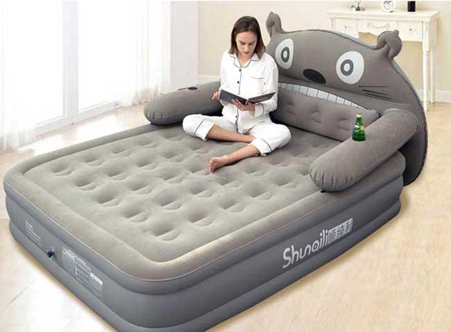 giường bơm không khí đẹp giá rẻ