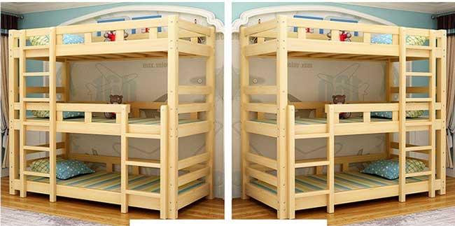 giường 3 tầng trẻ em