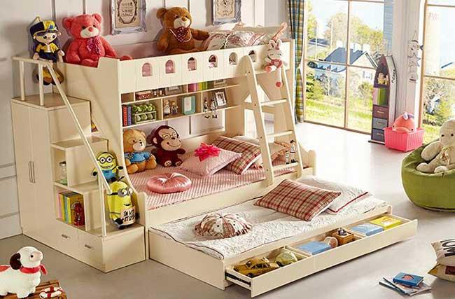 giường ba tầng