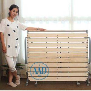 giường gấp nan gỗ nhật bản