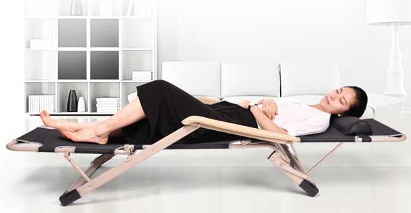 Ghế ngủ văn phòng gọn nhẹ và tiện dụng