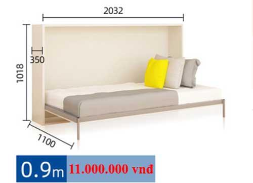 giường gấp thanh hóa rộng 90cm