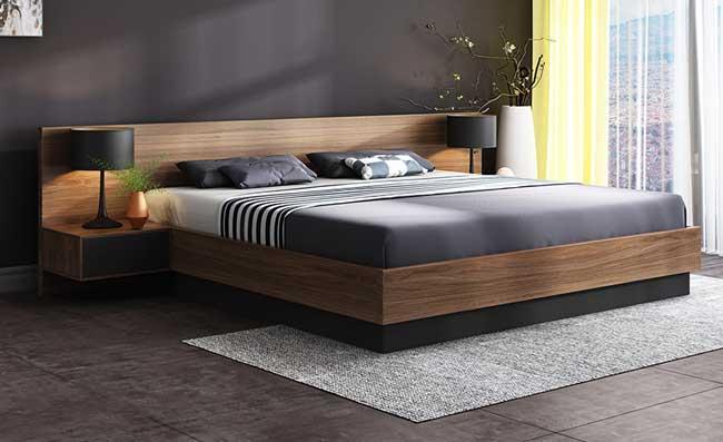 Giường ngủ cao cấp kiểu Nhật