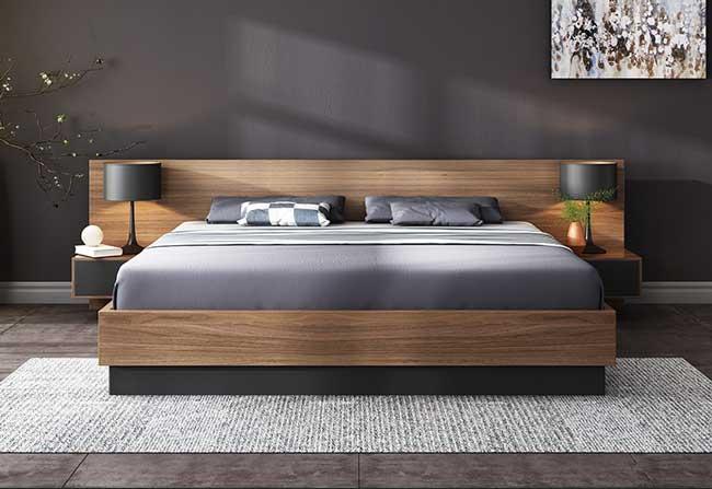 Giường ngủ kiểu Nhật cao cấp