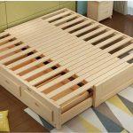 Mẫu giường pallet đẹp đơn giản phong cách hiện đại