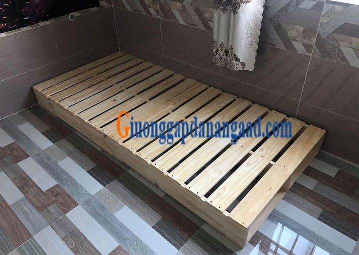 Báo giá giường gỗ pallet