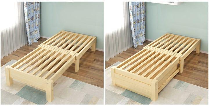 giường pallet đẹp