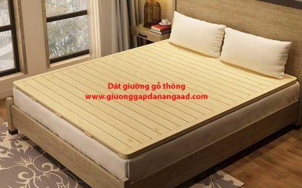 dát giường gỗ thông