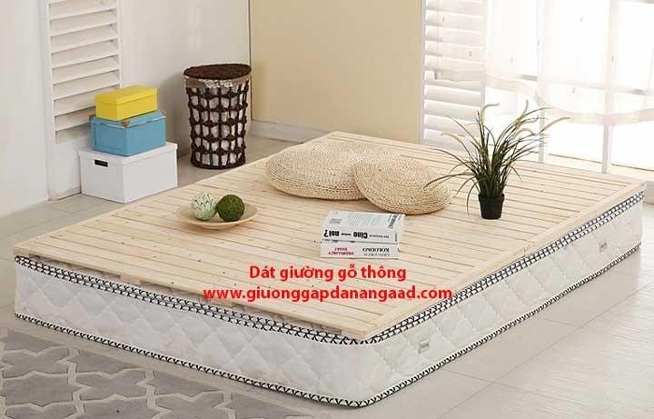 dát giường gỗ tự nhiên