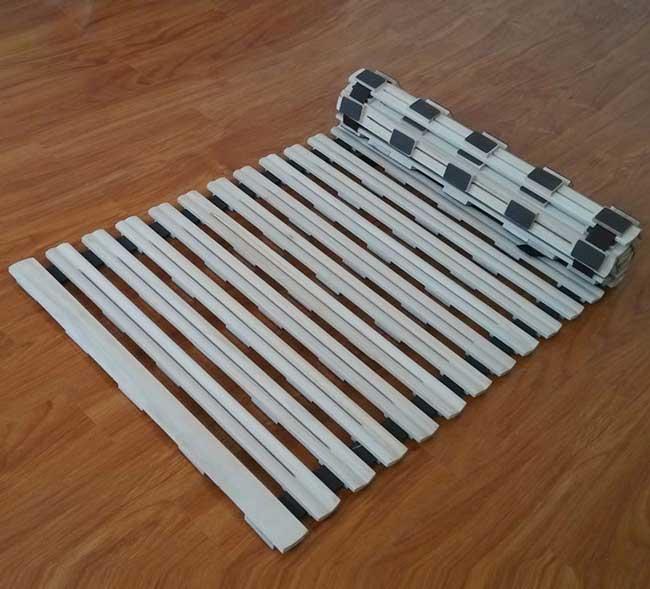 Giường gỗ cuộn tròn GA-022