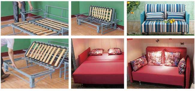 khung giường xếp đa năng
