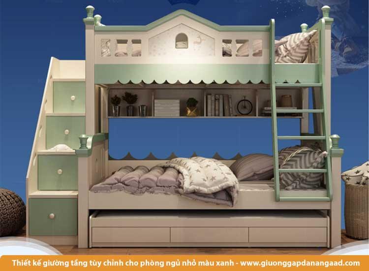 Giường tầng thiết kế tùy chỉnh cho phòng nhỏ