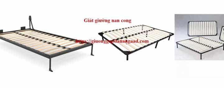 giát giường nan cong