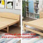Giường gỗ gấp Hạ Long Quảng Ninh Giá rẻ