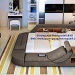 Giường ngủ thông minh tiết kiệm diện tích cho phòng nhỏ