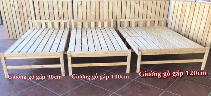 Mua giường gỗ gấp tại Hà Nội