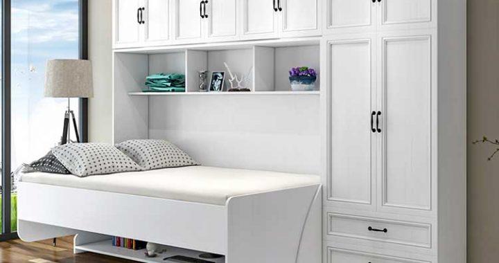 giường gấp ngang đa chức năng