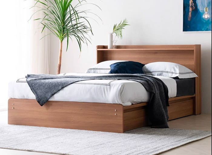 Giường ngủ gỗ MDF cao cấp SIZE QUEEN