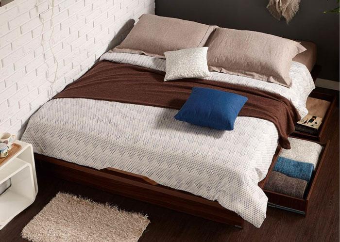 Giường 1m4 giá rẻ không có đầu giường