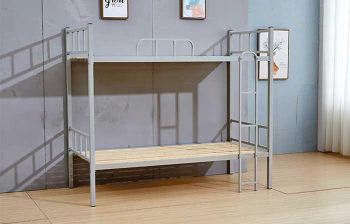 Giường sắt 2 tầng 1m4