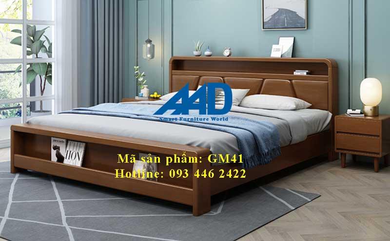giường ngủ 1m4 có hộc