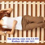 Nan giường cuộn tròn gỗ chi Hồng cao cấp